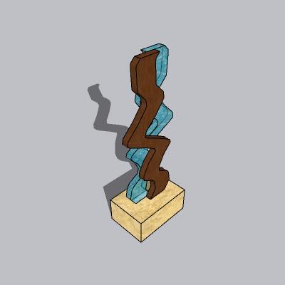 抽象雕塑 (129)