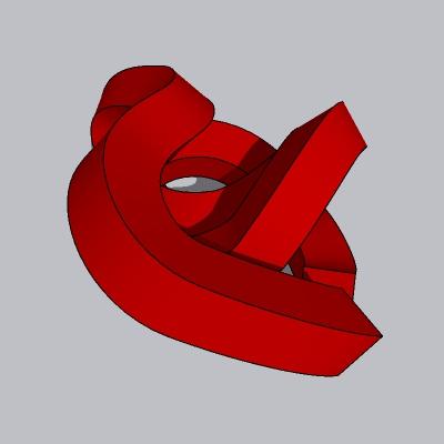 抽象雕塑 (4)
