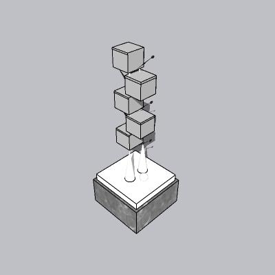 抽象雕塑 (41)