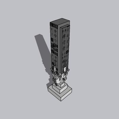中式景观柱 (1)
