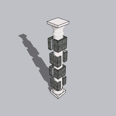 中式景观柱 (15)