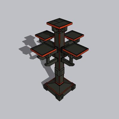 中式景观柱 (2)