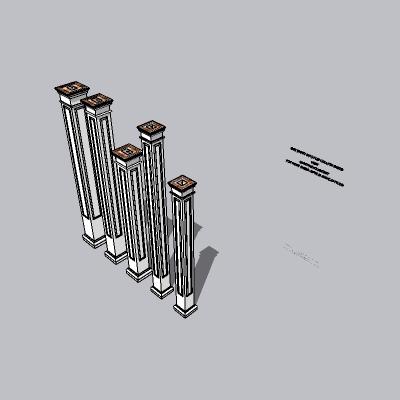 中式景观柱 (22)