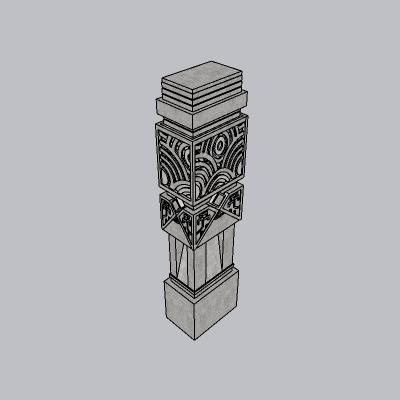 中式景观柱 (30)