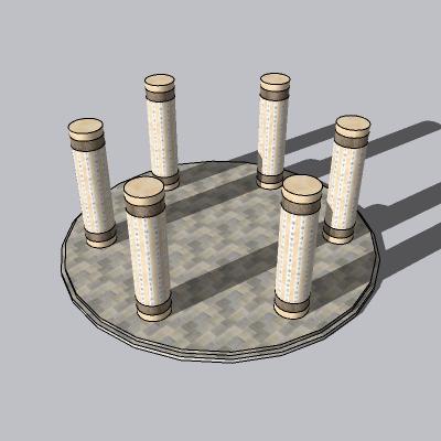 中式景观柱 (31)