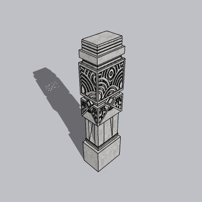 中式景观柱 (4)