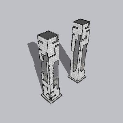 中式景观柱 (9)