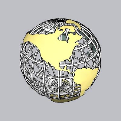地球仪-www.52edy.com