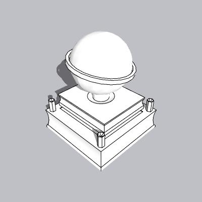 球形雕塑 (16)