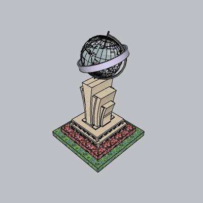 球形雕塑 (18)