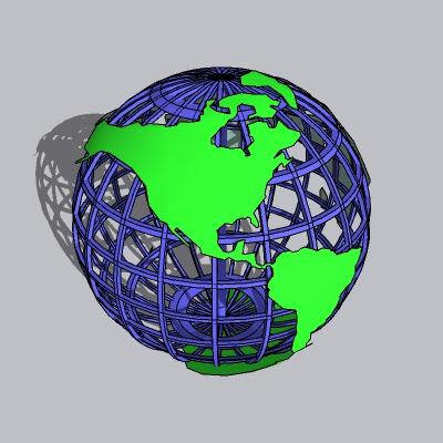 球形雕塑 (2)