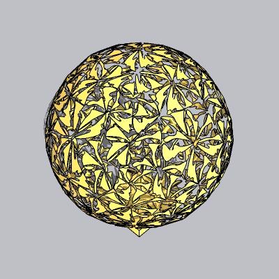 球形雕塑 (22)