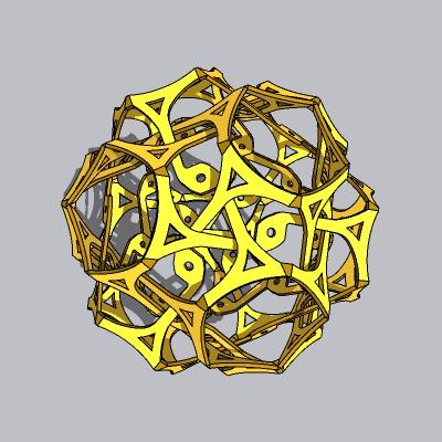 球形雕塑 (23)