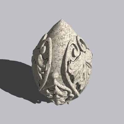 球形雕塑 (24)