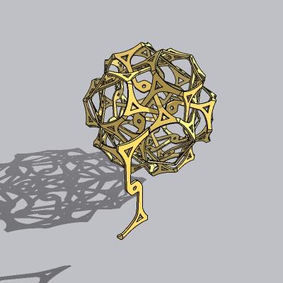 球形雕塑 (5)