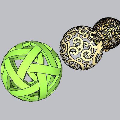 镂空球雕塑-www.52edy.com