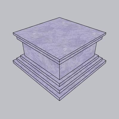 雕塑台座 (8)