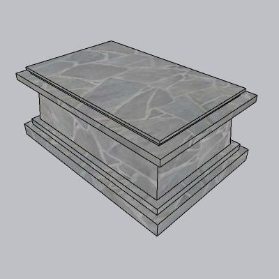 雕塑台座 (9)
