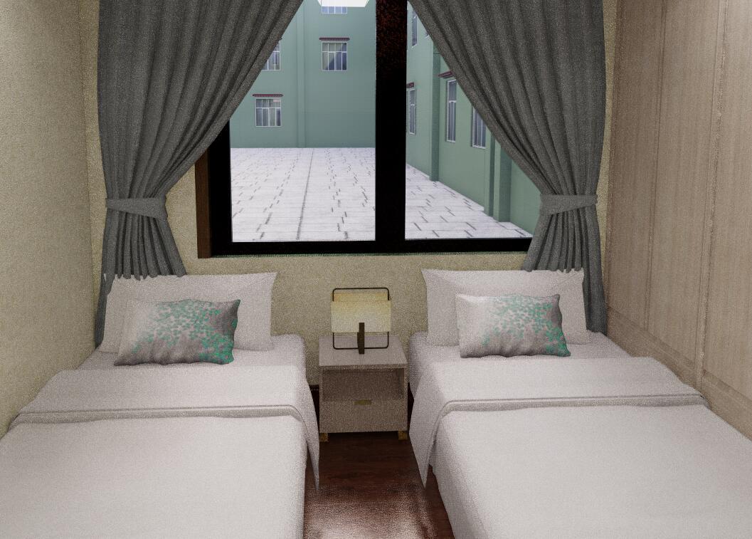 仙足岛 一楼卧室