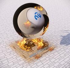 火焰贴图_009_材质
