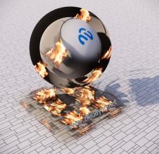火焰贴图_001_材质