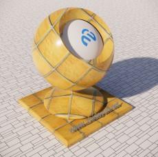 拼接地砖2_Sketchup材质