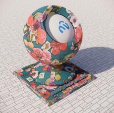 花纹墙纸560_Sketchup材质
