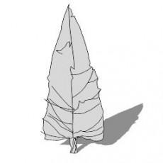 平面乔木_052_景观设计模型