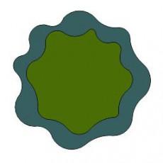 平面植物_001_景观设计模型