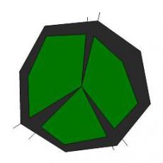 平面植物_004_景观设计模型