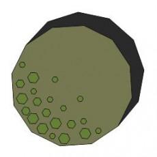 平面植物_005_景观设计模型
