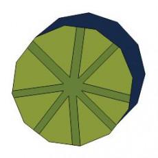 平面植物_006_景观设计模型