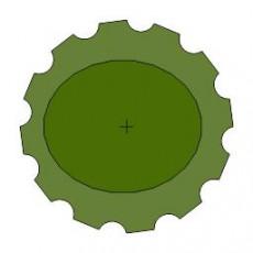 平面植物_009_景观设计模型
