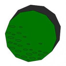 平面植物_013_景观设计模型