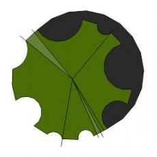 平面植物_023_景观设计模型