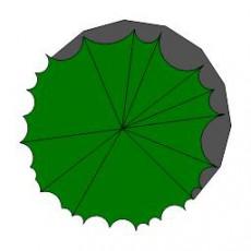平面植物_027_景观设计模型