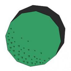 平面植物_040_景观设计模型