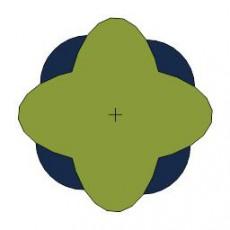 平面植物_042_景观设计模型