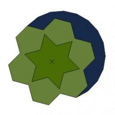 平面植物_044_景观设计模型