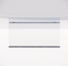 栏杆扶手_025_景观设计模型
