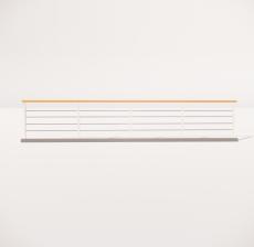 栏杆扶手_038_景观设计模型