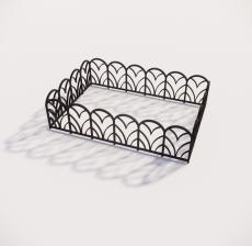 栏杆扶手_040_景观设计模型