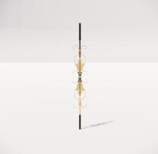 楼梯栏杆柱_015_景观设计模型