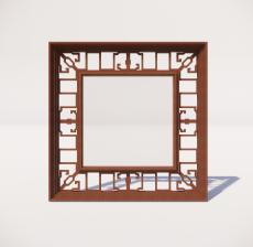 窗_001_室内设计模型