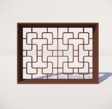 窗_002_室内设计模型