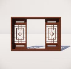 窗_005_室内设计模型