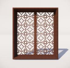 窗_007_室内设计模型