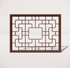 窗_008_室内设计模型