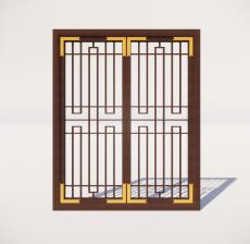 窗_009_室内设计模型