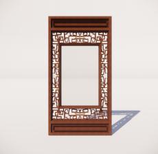 窗_010_室内设计模型